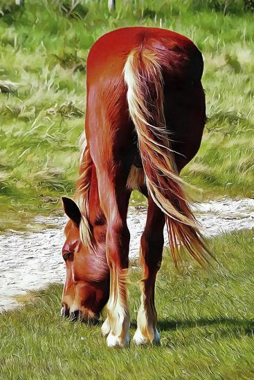 Graceful Grazing-Dorothy Berry-Lound-Giclee Print