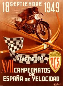 Salamanca Moto by Gracia