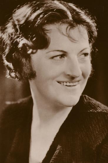 Gracie Fields, English Actress and Film Star--Photographic Print
