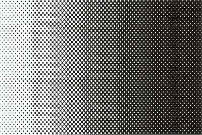 Gradated Dots--Art Print