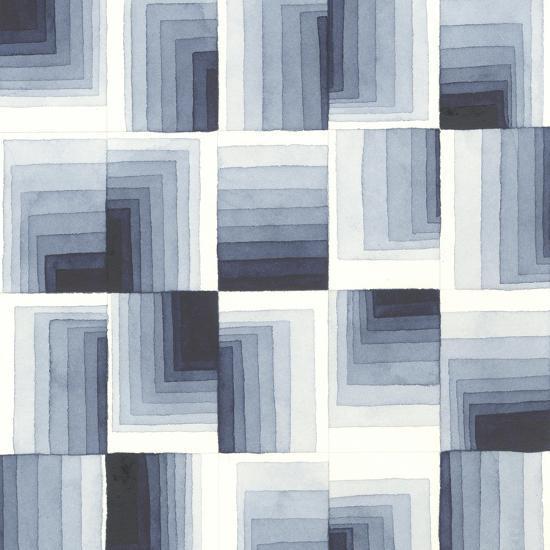 Gradient Indigo I-Nikki Galapon-Art Print