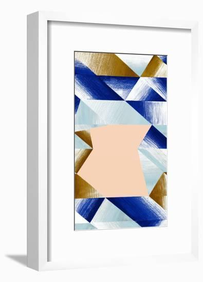Gradient Lines 1 recolor A-Marie Lawyer-Framed Giclee Print