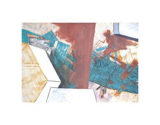 Gradual Clearing-Veronica Bruce-Art Print