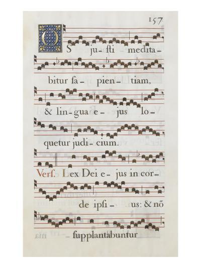 Graduale romanum, exécuté par P. Louis Blouin:-J.B. de Bray-Giclee Print