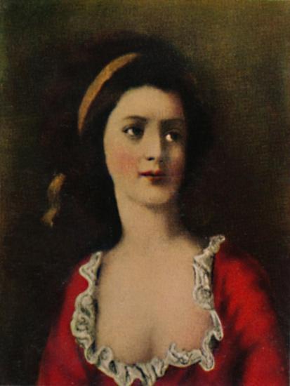 'Gräfin Potocka 1776-1867. - Gemälde von Kucharski', 1934-Unknown-Giclee Print