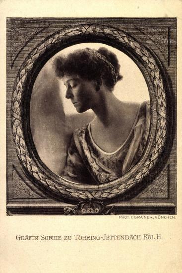 Gräfin Sophie Zu Törring Jettenbach, Bayern,Portrait--Giclee Print