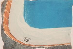 Corner of Swimming Pool by Graeme Harris