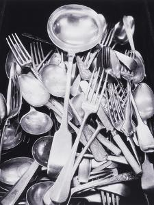 Silver Spoons and Forks by Graeme Harris