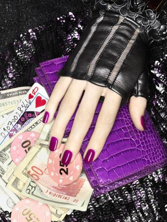 Leather Glove and Wallet by Graeme Montgomery