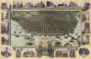 Saint Louis, Missouri in 1896 by Graf