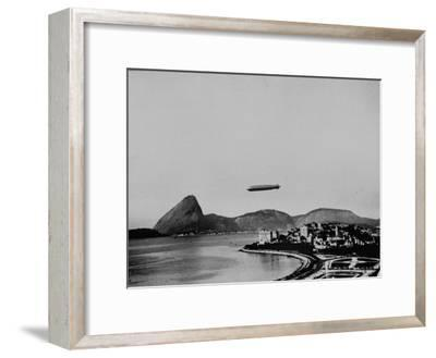 Graf Zeppelin Flying over Rio
