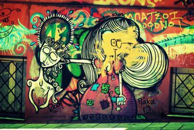 Graffiti Athens Greece