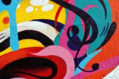 Graffiti Background-MrTwister-Art Print