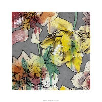 Graffiti Flowers I-Jennifer Goldberger-Limited Edition