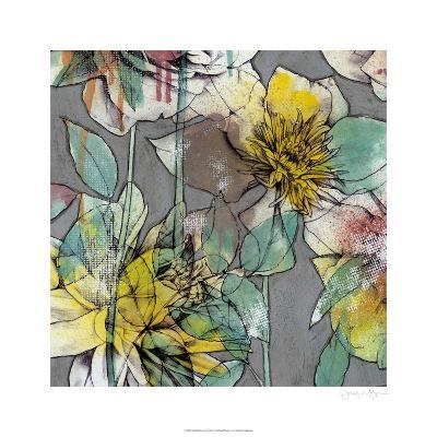 Graffiti Flowers II-Jennifer Goldberger-Limited Edition