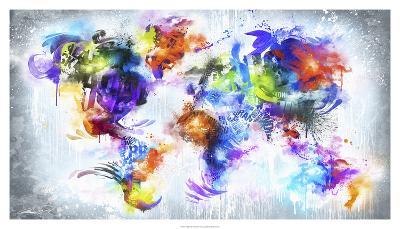 Graffiti Globe--Art Print