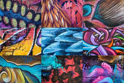 Graffiti I-Kathy Mahan-Photographic Print