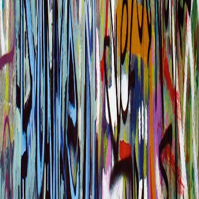 Graffiti II-Tony Koukos-Giclee Print