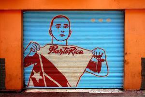 Graffiti in San Juan Puerto Rico