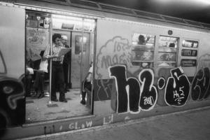 Graffiti on a NYC Subway Car on the Became a Symbol of a City in Decline in 1970s