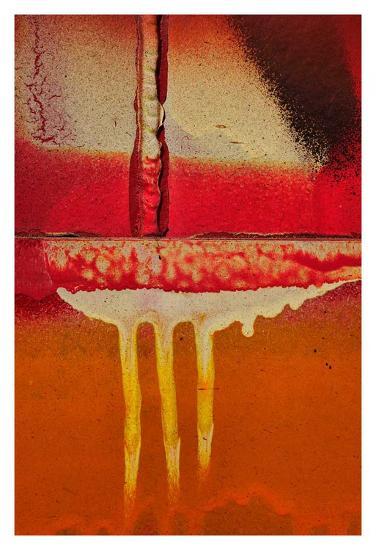 Graffiti Surface I-Jean-Fran?ois Dupuis-Art Print
