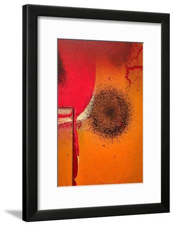Graffiti Surface II-Jean-François Dupuis-Framed Art Print