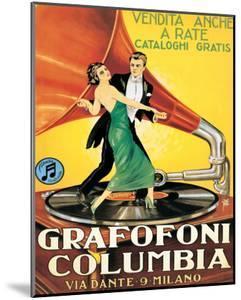 Grafofoni Columbia, Milano