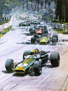 1967 French Grand Prix by Graham Coton