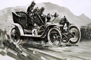 A 1906 Rolls-Royce Competition Car by Graham Coton