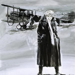 Amelia Earhart by Graham Coton