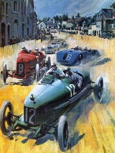 British Grand Prix Victory by Graham Coton