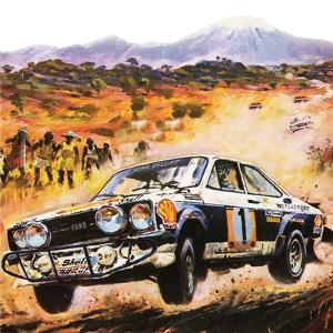 East African Safari Rally by Graham Coton