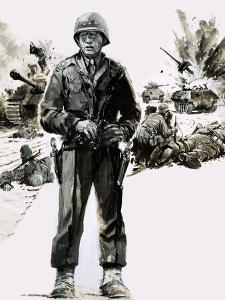 General George C. Patton by Graham Coton