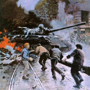 Hungarian Uprising of 1956 by Graham Coton