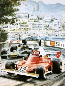 Niki Lauda by Graham Coton