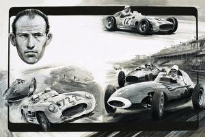 Stirling Moss by Graham Coton