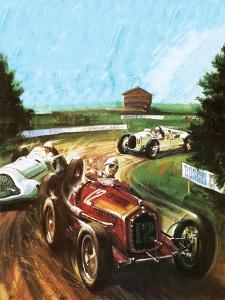 Tazio Nuvolari by Graham Coton