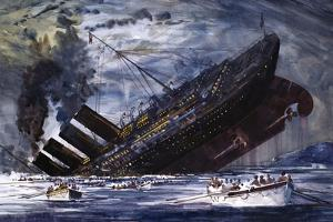 The Sinking of the Titanic by Graham Coton