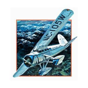 Wiley Hardemann Post Flying Winnie May Solo Round the World by Graham Coton