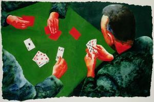 Card Game, 1988 by Graham Dean