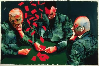 The Card Players, 1987 by Graham Dean
