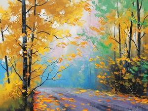 Misty Autumn Day by Graham Gercken