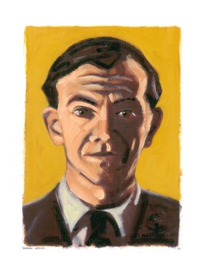 Graham Greene, 2008-Sara Hayward-Giclee Print