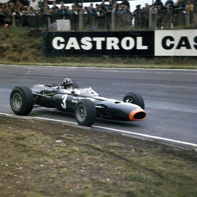 Graham Hill Racing a Brm P261, British Grand Prix, Brands Hatch, Kent, 1966--Photographic Print