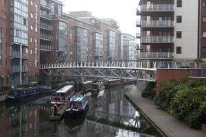 Birmingham Canal Navigations (BCN), Birmingham, West Midlands, England, United Kingdom, Europe by Graham Lawrence