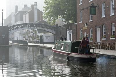 Gas Street Basin, Birmingham Canal Navigations (BCN), Birmingham, West Midlands, England, United Ki