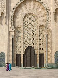 Hassan Ii Mosque, Casablanca, Morocco, North Africa, Africa by Graham Lawrence