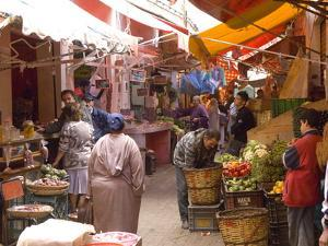 Old Medina, Casablanca, Morocco, North Africa, Africa by Graham Lawrence