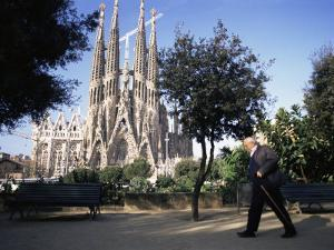 Sagrada Familia Cathedral, Barcelona, Catalonia, Spain by Graham Lawrence