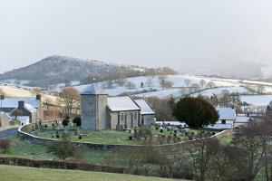 St. David's Church, Llanddewi'R Cwm, Powys, Wales, United Kingdom, Europe by Graham Lawrence